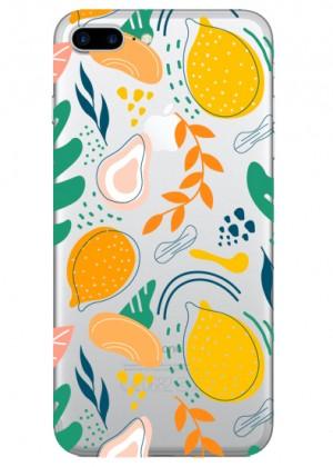 Karışık Limon Desenli Telefon Kılıfı
