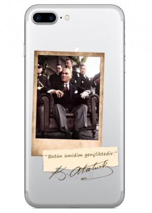 Atatürk Polaroid Telefon Kılıfı