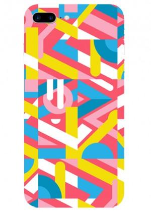 Geometrik Neon Renkli Telefon Kılıfı