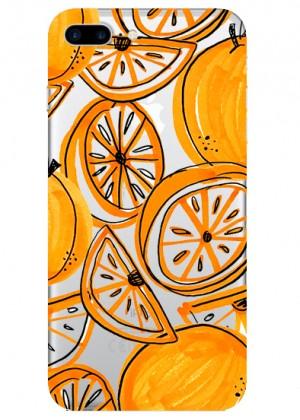 Portakal Desenli Telefon Kılıfı