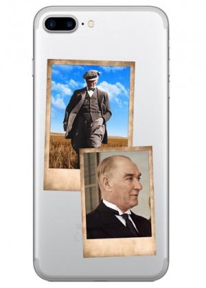 Renklendirilmiş Atatürk Fotografları Telefon Kılıfı