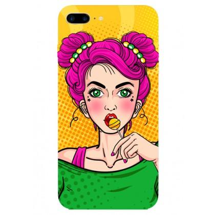 Lolipop Girl Popart Telefon Kılıfı