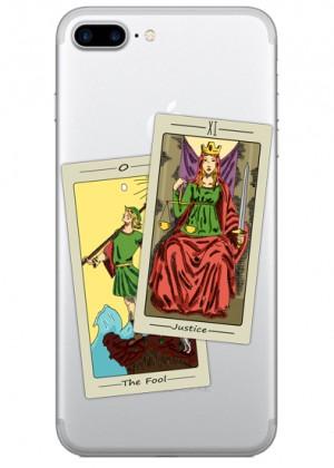 İkili Tarot Kartı Telefon Kılıfı