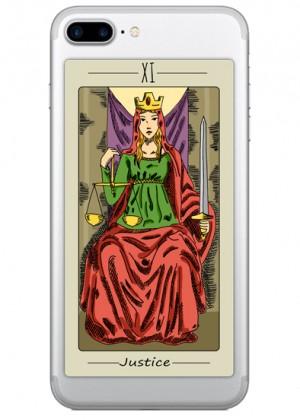 The Justice Tarot Kartı Telefon Kılıfı