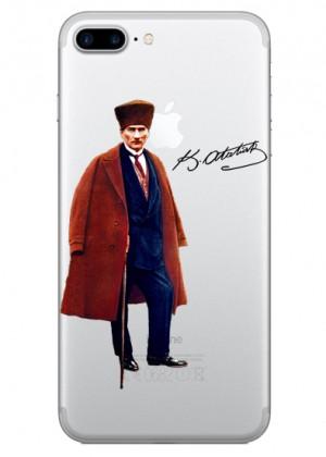 Atatürk Desenli Telefon Kılıfı