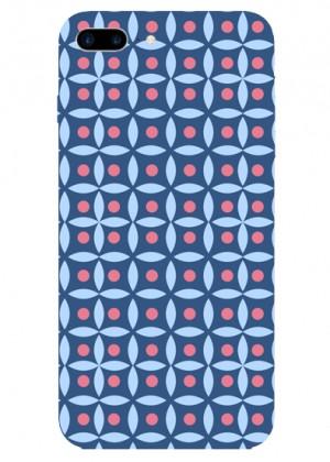 Lacivert Renkli Geometrik Telefon Kılıfı