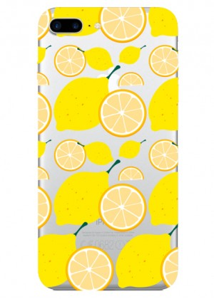 Limon Desenli Telefon Kılıfı