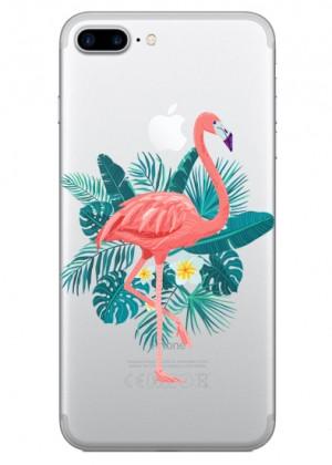 Çiçekli Flamingo Telefon Kılıfı