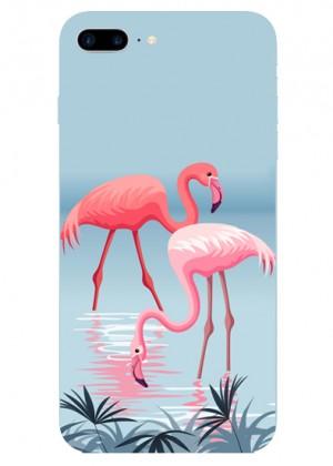 Çift Flamingo Telefon Kılıfı
