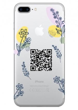 Çiçek Desenli Hes Kodu Telefon Kılıfı