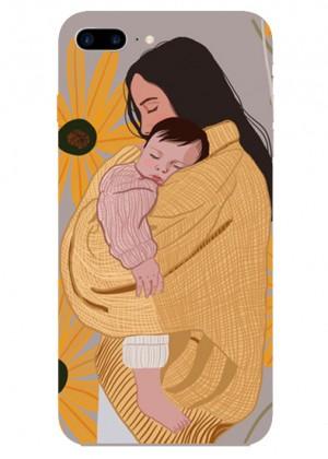 Çiçek Desenli Anne ve Kızı Telefon Kılıfı