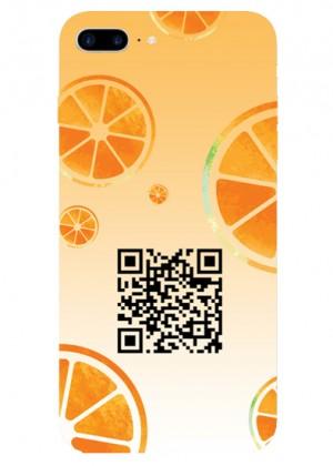 Portakal Desenli Hes Kodu Telefon Kılıfı