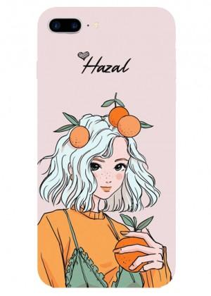 Portakal Sever Karakter Telefon Kılıfı