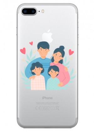 Sevimli Aile Telefon Kılıfı