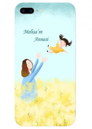 İsimli Anne ve Kızı Telefon Kılıfı
