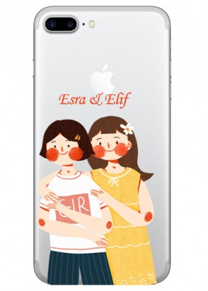İsimli Kız Kardeşler Telefon Kılıfı
