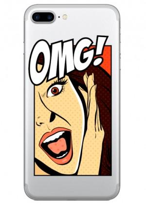 OMG Kadin Pop Art Telefon Kılıfı