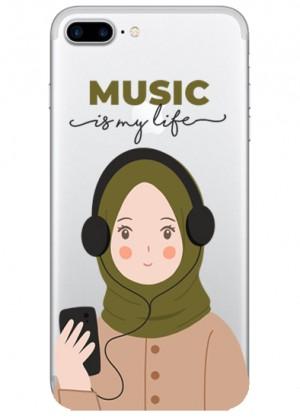 Müzik Sever Karakterli Telefon Kılıfı