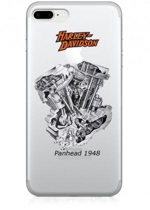 Harley Davidson Motosikletli Telefon Kılıfı