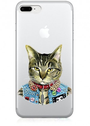 Punk Cat Telefon Kılıfı