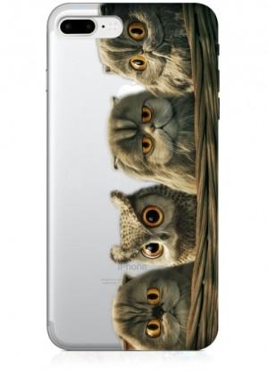Baykuşlu Telefon Kılıfı