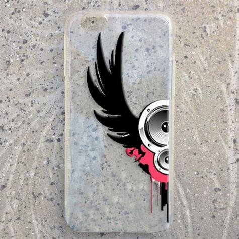 Kanat Desenli Telefon Kılıfı