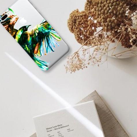 Kartal Desenli Telefon Kılıfı