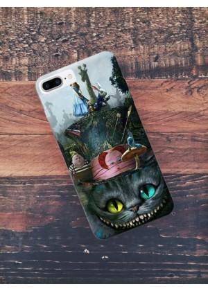 Harikalar Diyarı Sırıtan Kedi Telefon Kılıfı