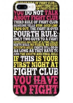 Fight Club Kuralları Telefon Kılıfı