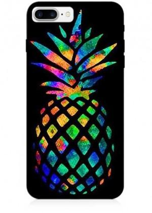 Renkli Ananas Telefon Kılıfı