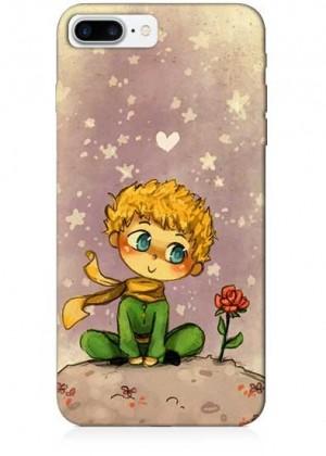Küçük Prens Çiçekli Telefon Kılıfı