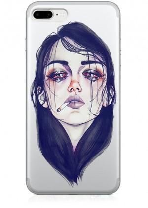 Üzgün Kız Telefon Kılıfı