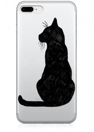 Kara Kedi Telefon Kılıfı