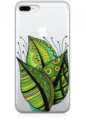 Yeşil Yaprak Farklı Telefon Kılıfı