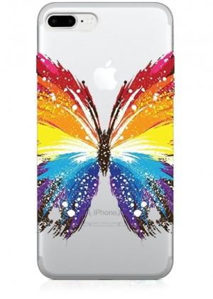 Renkli Kelebek Telefon Kılıfı