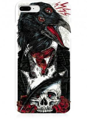 Gotik Karga Telefon Kılıfı