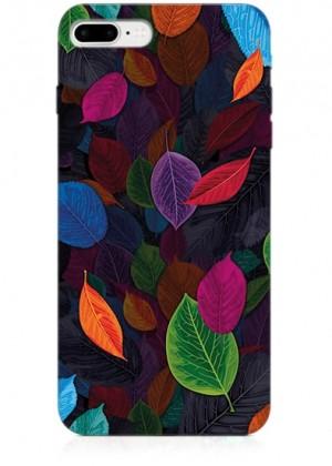 Renkli Yapraklı Telefon Kılıfı