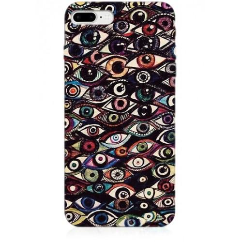 Göz Desenli Telefon Kılıfı