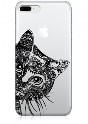 Kedi Çizimli Telefon Kılıfı