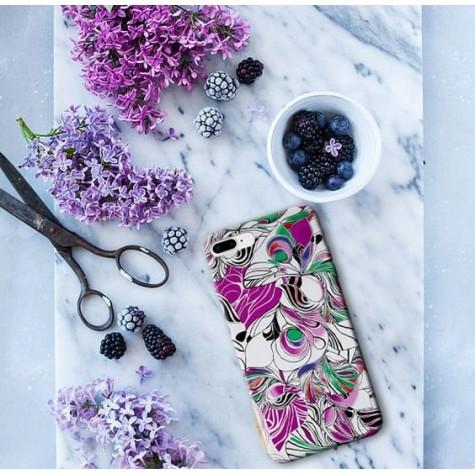 Çiçek Çizimli Telefon Kılıfı