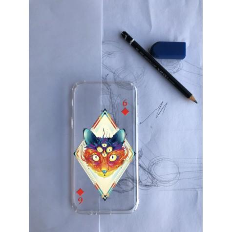 Karo Desenli Telefon Kılıfı