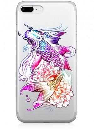 Renkli Balık Telefon Kılıfı