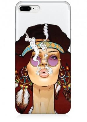 Hippi Kız Telefon Kılıfı