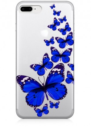 Mavi Kelebekler Telefon Kılıfı
