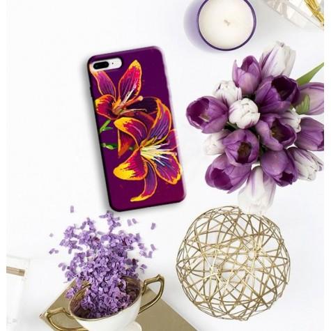 İki Çiçekli Telefon Kılıfı