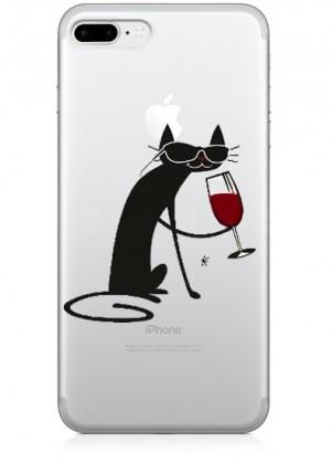 Wine Cat Telefon Kılıfı