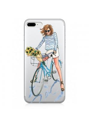 Bisikletli Kız Telefon Kılıfı