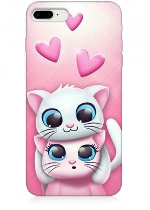 Romantik Kedili Telefon Kılıfı