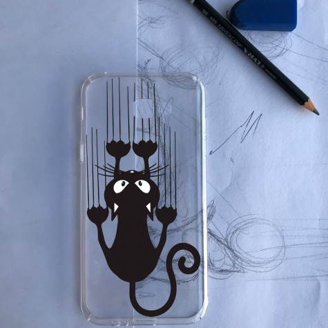 Azimli Kedi Telefon Kılıfı