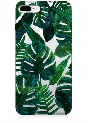 Tropikal Yapraklı Telefon Kılıfı